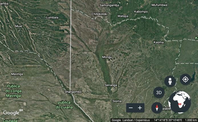 Ferramentas de visualização do Google Earth (Foto: Reprodução/Helito Bijora)