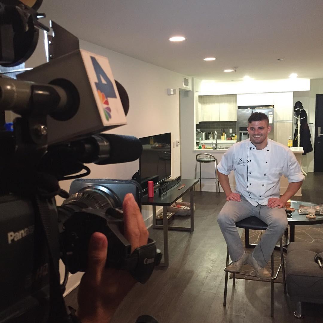 Chris Sayegh: chef fala sobre sua gastronomia com uso de maconha à TV dos EUA (Foto: Reprodução)
