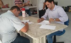 Sergipe, assinatura (Foto: Divulgação / CSS)