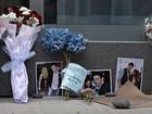Calçada de hotel vira memorial para Cory Monteith