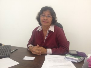 Inailza Ferreira, diretora da Fcria (Foto: Dyepeson Martins/G1)