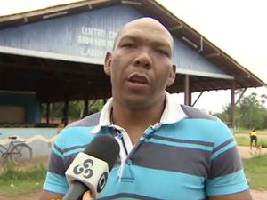 Romildo diz ser contra a regularização da Lagoa dos Índios (Foto: Reprodução/TV Amapá)