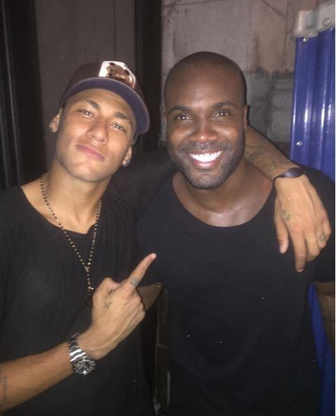 Neymar e Rafael Zulu em festa do Rio (Foto: reprodução/instagram)