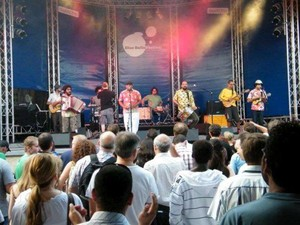Banda NaurÊa vai representar Sergipe nas Olimpíadas de Londres (Foto: Divulgação)