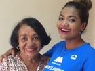 Gaby Amarantos pede orações para mãe internada na UTI