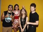 Elenco de 'I love Paraisópolis' se reúne em festa de lançamento da novela