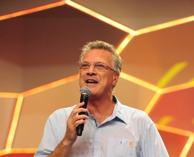 Pedro Bial no BBB 13 (Foto: Divulgação/TV Globo)