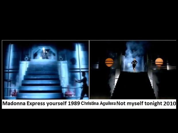 Madonna e Christina Aguilera (Foto: Reprodução / Internet)
