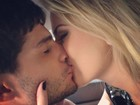 Fernanda Keulla dá beijão em André Martinelli: 'Amigo, amante, amor'.