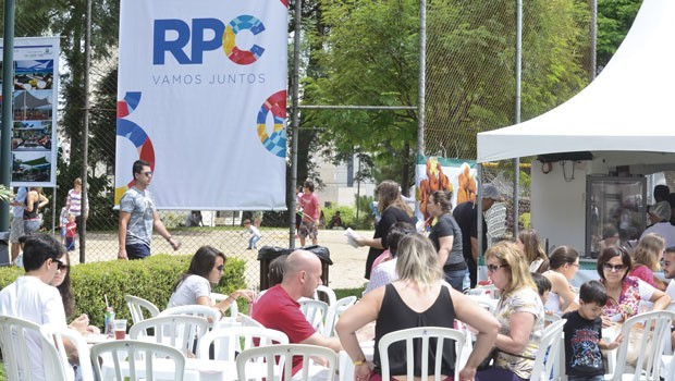 Feira Alto Juvevê Gastronomia agitou o sábado (7), com o apoio da RPC (Foto: Thiago Fernandes/RPC)