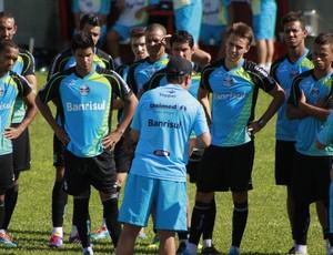 Enderson Moreira inicia treinamento técnico (Foto: Diego Guichard)