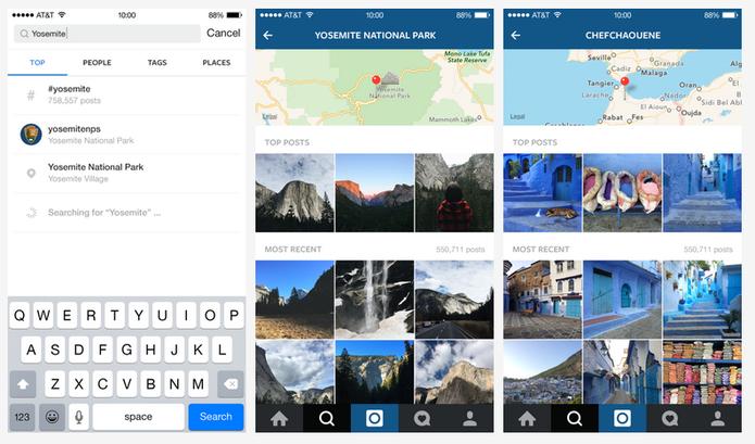 Instagram vai reunir cada vez mais dados sobre uma foto para catalogar informações (Foto: Divulgação/Instagram)
