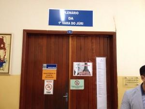 Advogado diz que ré matou Zezinho Maranhão para se defender, em RO (Foto: Gaia Quiquiô/G1)