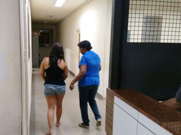 Promotora de evndas de 30 anos foi presa após matar marido em Piracicaba (Foto: Valter Martins/Piracicaba em alerta)