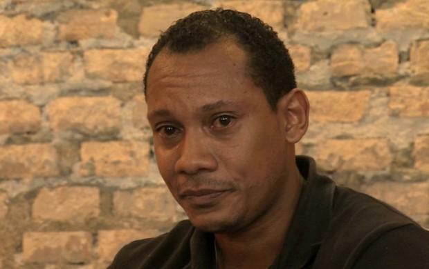 Márcio Chagas da Silva relata racismo no Gauchão (Foto: Reprodução / RBSTV)