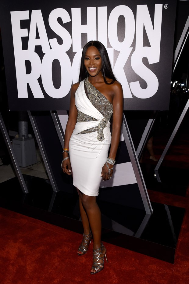 Naomi Campbell no Fashion Rocks 2014 (Foto: Getty Images)