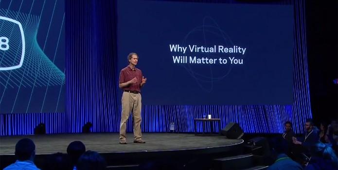 Para o Facebook, futuro da realidade virtual é atingir a simulação perfeita (Foto: Reprodução)