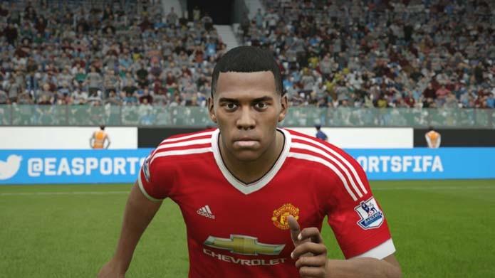 Astro jovem do United parece Robinho em Fifa 16 (Foto: Reprodução/Murilo Molina)