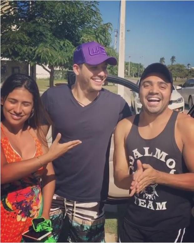 Simone, Wesley Safadão e Tirullipa (Foto: Reprodução/Instagram)