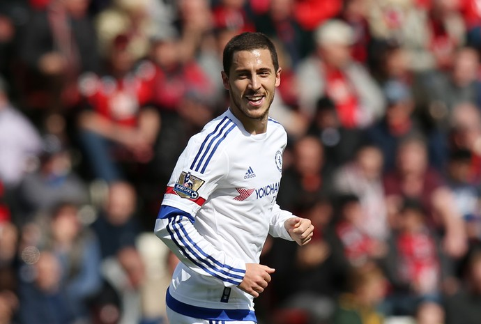Hazard Chelsea Bournemouth (Foto: Reuters)