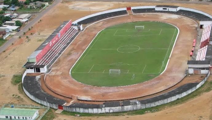 Estádio Gilbertão - amazonas (Foto: Reprodução/TV Amazonas)