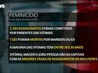 No Brasil, treze mulheres são assassinadas por dia