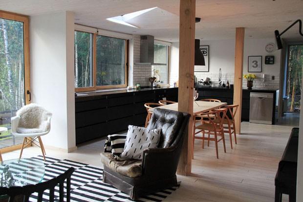 Casa na floresta funde rústico e moderno casa vogue casas