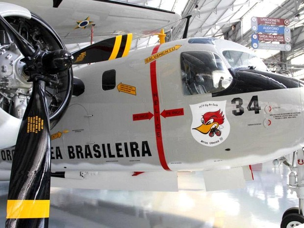 Acervo do Museu TAM em São Carlos conta com 90 aeronaves (Foto: Fabio Rodrigues/G1)