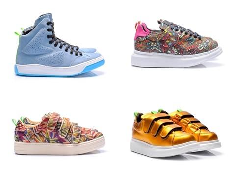 Alguns modelos da nova coleção de verão da Hardcore Footwear, que lança dia 10 de setembro (Foto: Divulgação)