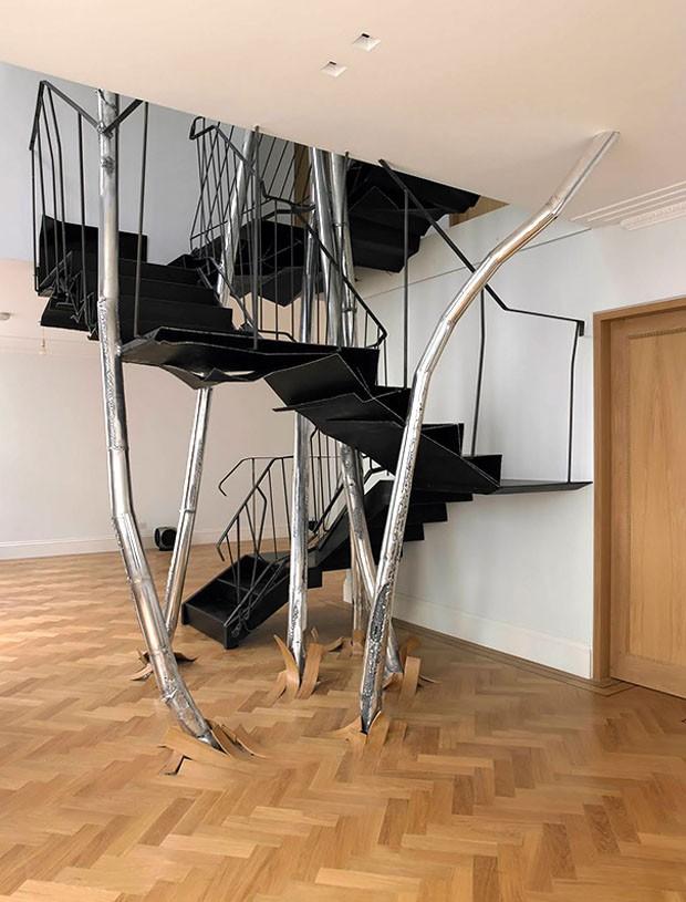 Ideias de escadas (Foto:  Vincent Dubourg / Divulgação)