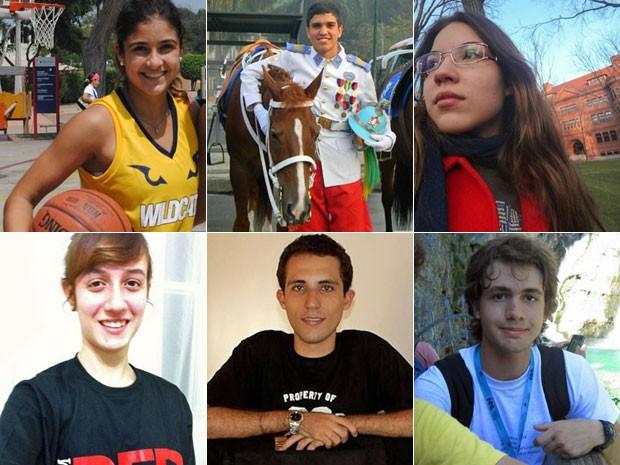 Seis estudantes brasileiros foram aceitos pela Universidade Harvard (Foto: Arquivo pessoal)