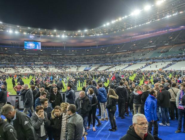 Torcida Stade de France França Alemanha