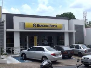 Agência do Banco do Brasil da Miguel Petroni, em São Carlos (Foto: Rodrigo Facundes/ EPTV)