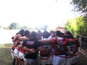 Uberlândia x Varginha terceira rodada Mineiro de XV (Foto: Uberlândia Rugby)