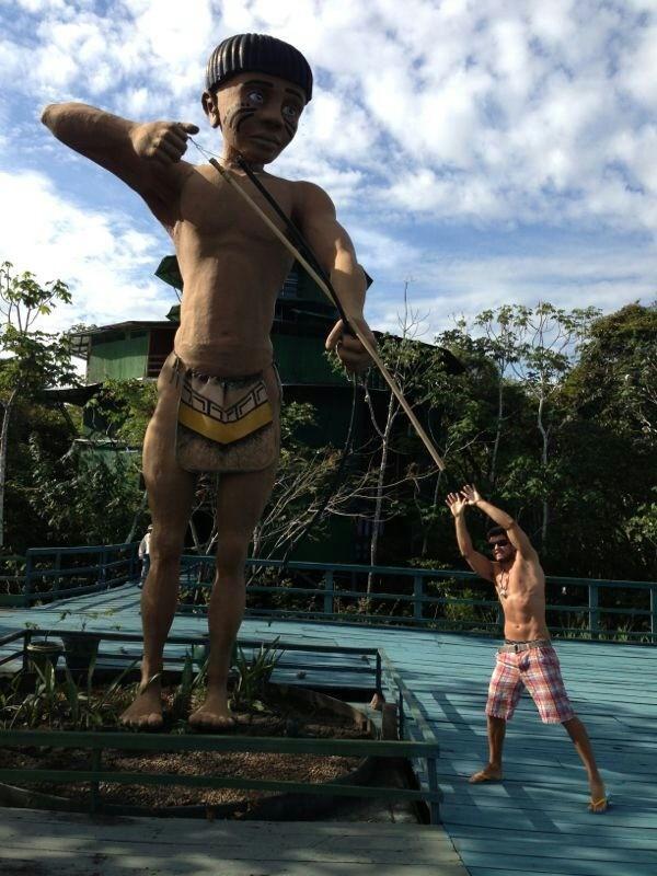 Elieser em Manaus (Foto: Divulgação)