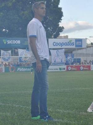 Rodrigo Santana Treinador URT Patos de Minas (Foto: Toninho Cury/AG Esporte)