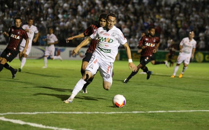 operário-pr x atlético-pr paranaense (Foto: Luciano Mendes/Operário-PR)