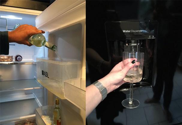 Filtro de água, ops, vinho (Foto: Reprodução Twitter)