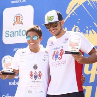 Ana Marcela Cunha e Victor Colonese (Foto: Reprodução / Facebook)