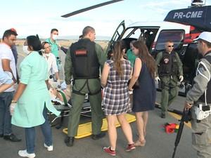 Delegado baleado no Sertão foi transferido para o Hospital de Trauma de João Pessoa (Foto: Reprodução/TV Paraíba)