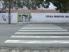 Alunos reclamam de falta de faixas de pedestres em Campina Grande