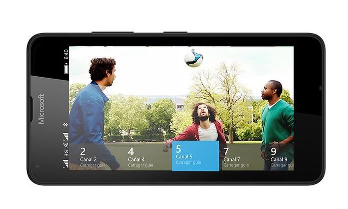 Lumia 640 traz TV Digital no Brasil e suporte para dois chips (Foto: Divulgação/Microsoft)