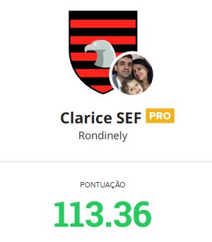 rondinely vencedor cartola pro rodada 2 (Foto: GloboEsporte.com)