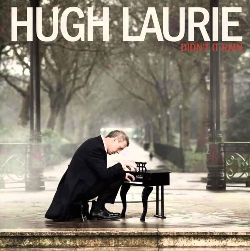 Capa do disco 'Didn't it rain' (2013), do ator Hugh Laurie, da série 'House' (Foto: Divulgação)