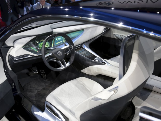 Interior do Buick Avista Concept (Foto: REUTERS/Rebecca Cook)
