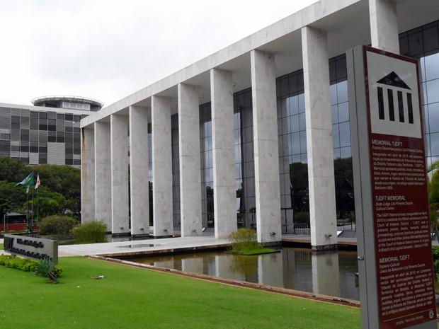 Prédio do Tribunal de Justiça do Distrito Federal (Foto: Raquel Morais/G1)