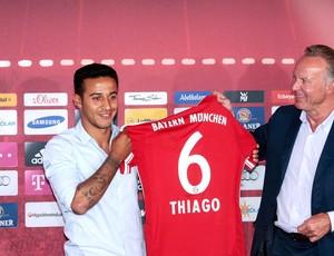 Thiago alcantara Bayern de Munique (Foto: Agência AFP)