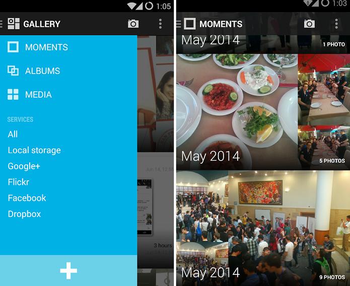 Cyanogen Gallery deixa suas imagens mais organizadas (Foto: Divulgação)