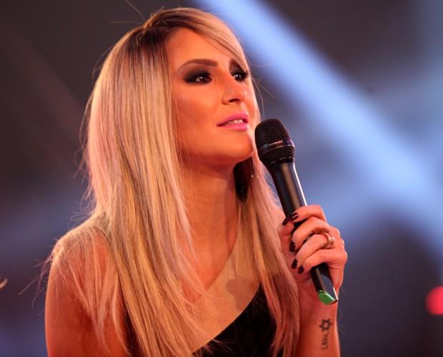 Claudia Leitte coletiva de imprensa (Foto: Isabella Pinheiro/TV Globo)