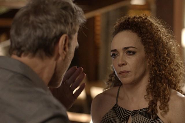 Laila Garin e Herson Capri em cena de 'Rock story' (Foto: Reprodução)